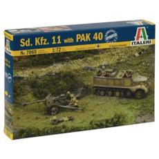 German Pak 40 At Gun W / Servants 1:72