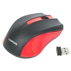 Mouse WL Omega OM-0419R Black / Red