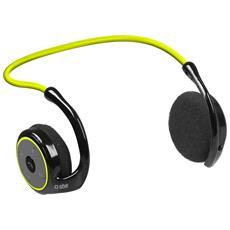 Cuffia stereo Sport Runway Fit Bluetooth 3.0 - Giallo RICONDIZIONATO