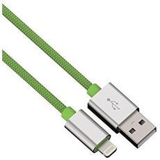 Cavo di Ricarica e Sincronizzazione USB 2.0 A / Lightning Colore Verde