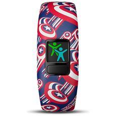 Vivofit Junior 2 in Silicone Impermeabile Bluetooth Compatibile con iOS Android Contapassi Multicolor