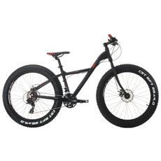Fat Bike Cinzia Xx Fat 26 Alluminio Tx800 21 Velocita - Nero - Rosso - Grigio