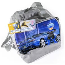 Lunch Bag Cestino Portapranzo Swhall Tailor Cars 20 X 13 X 19 Cm Grigio