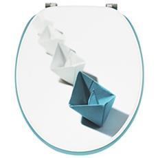 20721909sedile Fsc 100% Trendy Line Separato, Blu E Bianco