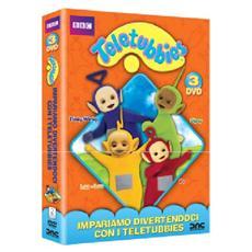 Dvd Teletubbies - Impariamo Diver. (3dvd)