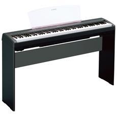 Stand in Legno per Pianoforte Digitale L-85 Colore Nero
