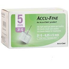 Roche Accu-fine 31g 5mm 100 Aghi Sterili
