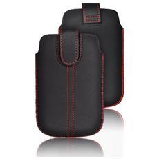 Cover Custodia Chic Ultra Slim -m4- Samsung Son Xperia Z1 / z2 / z3 / z4 / z5 / m5 / p9 / p9 Lite Nero