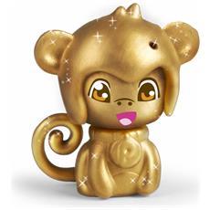 Pinypon - Uovo Magico Con Cucciolo - Scimmia Oro