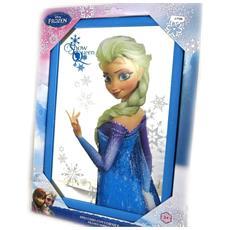 specchio 'frozen - ' blu - [ l7788]