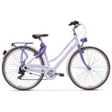City Bike Trekking Lombardo Sirmione Donna 28 Ty300 Lilla Viola