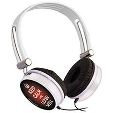 Cuffia Audio Keep Calm Colore Bianco