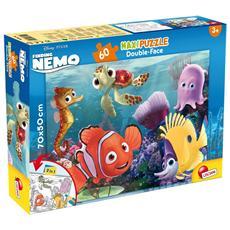 Alla Ricerca Di Nemo - Puzzle Double-Face Supermaxi 60 Pz