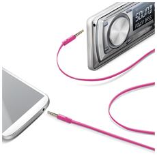 Audio Cable Jack 3.5mm Pink