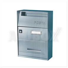 Cassetta Postale Buca Lettere Posta In Acciaio Inox Alubox