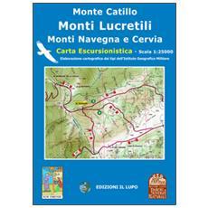 Monte Catillo, Lucretili, Cervia, Navegna. Carta escursionistica 25:000