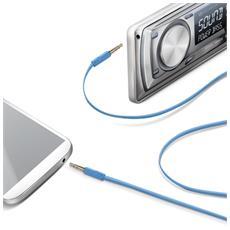 Audio Cable Jack 3.5mm L. Blue