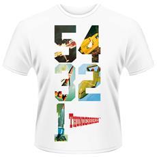 T-Shirt Thunderbirds Unisex Nera S 803341476462