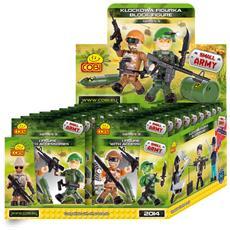 1 Bustina Con Soldatino Piccolo Esercito Small Army 02590