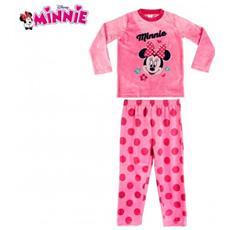 828210 Pigiama Da Bambina Con Grafica Mouse In Caldo Pile Da 3 A 6 Anni - 4 Anni
