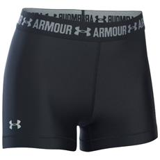 UNDER ARMOUR - Heatgear Armour Shorty Donna Nero M