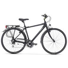 City Bike Trekking Lombardo Taranto Uomo 28 Acera M360 Nero