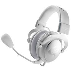 QH-90 Pro Stereofonico Padiglione auricolare Bianco cuffia e auricolare
