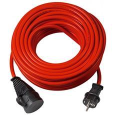 1169830 10m Rosso cavo di alimentazione