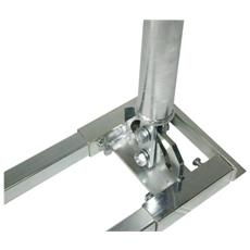 Doebis Roof Bracket Square Pipe, Height 100cm