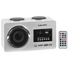 Radio Fm Usb / Sd / Aux-in C / Telec. 109173 Bianco