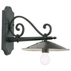 Applique in basso design antico lampada da parete grigio 6 pz