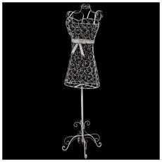 Manichino Donna In Ferro Stile Vintage