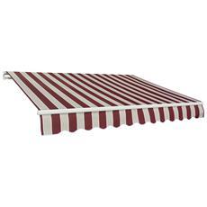 Tenda barra quadra P. 200 L. 250 colore - Riga Bordeaux
