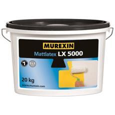 Lx 5000 Smalto Murale Bianco Opaco Per Interni 20 Kg