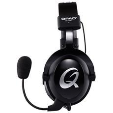 QH-90 Pro Stereofonico Padiglione auricolare Nero cuffia e auricolare