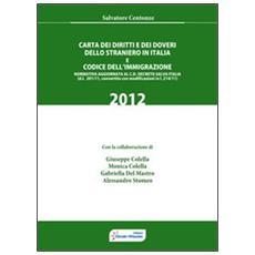 Carta dei diritti e dei doveri dello straniero in Italia e codice dell'immigrazione