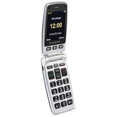 """Primo 413 Senior Phone Display 2.4"""" Micro SD Bluetooth con Tasti Grandi + SOS Fotocamera Colore Nero"""