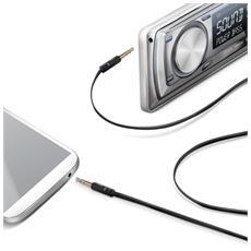 Audio Cable Jack 3.5mm Black