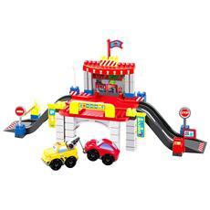 Costruzioni Abrick 3047 City Con 2 Veicoli Cm 64 Ecoiffier Per Bambini 18 Mesi