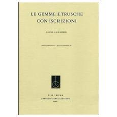 Le gemme etrusche con iscrizioni