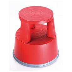 Sgabello in Plastica Rosso