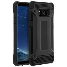 Cover Antishock Nera Per Samsung Galaxy S8 - Certificata Cadute 1.8 Metri