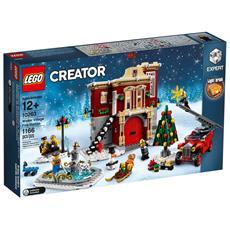10263 - Creator Expert - Caserma Dei Pompieri Del Villaggio Invernale