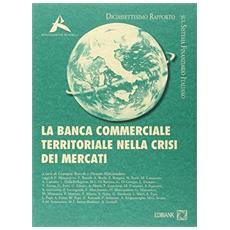 La banca commerciale territoriale nella crisi dei mercati. 17° rapporto sul sistema finanziario