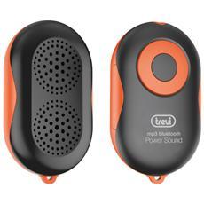 Mini Lettore Mp3 Con Altoparlante, Bluetooth E Vivavoce Trevi Mpv 1710 Sb Arancio