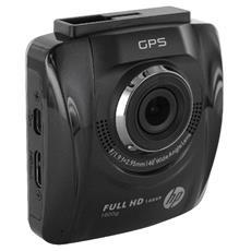 F500G Car Camcorder Videocamera per automobile Nero