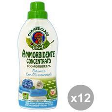 Set 12 Ammorbidente Concentrato Eco. ortensia 625 Ml. Detergent