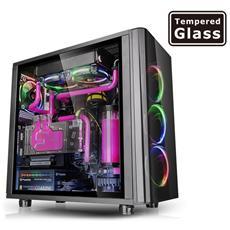 Case View 31 TG RGB Middle Tower ATX / Micro-ATX / Mini-ITX 2 Porte USB 3.0 Colore Nero (Finestrato)