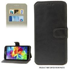 Custodia Slim Tipo Libro Per Samsung Galaxy Core Plus G3500- Nero