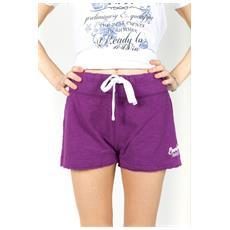 Shorts Ny Donna Fiammato Viola M